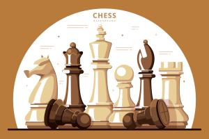 Immagine decorativa - Pedine degli scacchi